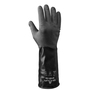 SHOWA® Size 8 Black 14 mil Butyl Chemical Resistant Gloves