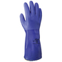 SHOWA® Size 8 Blue ATLAS® Kevlar® Lined Kevlar® And PVC Chemical Resistant Gloves