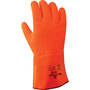 SHOWA® Size 10 Orange PVC Cotton/Foam Insulation Lined Cold Weather Gloves