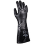 SHOWA® Size 8 Black 13 Gauge Engineered Fiber Lined Neoprene Chemical Resistant Gloves