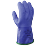 SHOWA® Size 9 Blue ATLAS® Acrylic/Cotton Insulated Lined PVC Chemical Resistant Gloves