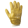 SHOWA® Size 10 Yellow Cotton Lined PVC Chemical Resistant Gloves