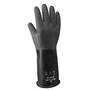 SHOWA® Size 9 Black 25 mil Butyl Chemical Resistant Gloves