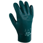 SHOWA® Size 8 Green Cotton Lined PVC Chemical Resistant Gloves