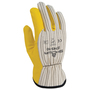SHOWA® Size 9 Yellow Proprietary Work Gloves With Cotton Liner And Slip-On Cuff