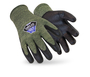 HexArmor® Medium Helix™ 2082 13 Gauge Aramid And Wool Flame Resistant Cut Resistant Gloves With Neoprene And Nitrile Coated Palm