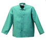 Stanco Safety Products™ Size 2X Green Cotton Flame Resistant Coat With Snap Closure