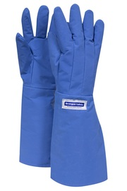 National Safety Apparel® Large 3M™ Scotchlite™ Thinsulate™ Teflon™ Laminated Nylon Water Resistant Cryogen Gloves