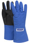 National Safety Apparel® Small 3M™ Scotchlite™ Thinsulate™ Teflon™ Laminated Nylon Cryogen Gloves With Silicone Coated Para-Aramid SaferGrip™ Palm And Thumb