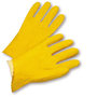 West Chester Large PVC Work Gloves With Interlock Liner And Slip On Cuff