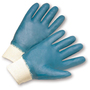 West Chester Small Nitrile Work Gloves With Jersey Liner And Knit Wrist