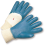 West Chester Small Nitrile Work Gloves With Interlock Liner And Knit Wrist