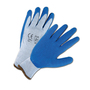 PIP® Small PosiGrip® 10 Gauge Blue Latex Palm And Finger Coated Work Gloves With Polyester Liner And Knit Wrist