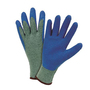 West Chester Large PosiGrip 10 Gauge Crinkle Latex Work Gloves And Knit Wrist