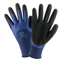 PIP® Large  13 Gauge Black Latex Palm And Finger Coated Work Gloves With Polyester Liner And Rib Knit Cuff