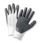 West Chester Size 8 PosiGrip 13 Gauge Nitrile Work Gloves With Nylon Liner And Rib Knit Cuff