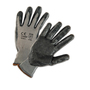 PIP® Large PosiGrip® 13 Gauge Black Nitrile Palm And Finger Coated Work Gloves With Polyester Liner And Knit Wrist