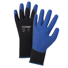 West Chester Large PosiGrip 15 Gauge PVC Work Gloves With Nylon Liner And Rib Knit Cuff