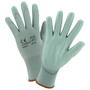 PIP® X-Small PosiGrip® 13 Gauge Gray Polyurethane Palm And Finger Coated Work Gloves With Nylon Liner And Rib Knit Cuff