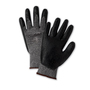 PIP® X-Small PosiGrip® 15 Gauge Black Nitrile Palm And Finger Coated Work Gloves With Nylon Liner And Rib Knit Cuff