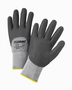 PIP® Medium PosiGrip® 15 Gauge Black Nitrile Palm Finger And Knuckles Coated Work Gloves With Nylon And Spandex Liner And Knit Wrist