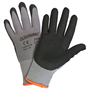 PIP® Small PosiGrip® 15 Gauge Black Nitrile Palm And Finger Coated Work Gloves With Polyester Liner And Knit Wrist