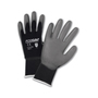 West Chester Small PosiGrip 15 Gauge Polyurethane Work Gloves With Nylon Liner And Rib Knit Cuff