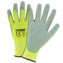 West Chester Large PosiGrip 13 Gauge Polyurethane Work Gloves With Conductive Finger Tips Nylon Liner And Knit Wrist