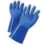 Protective Industrial Products Large PVC Work Gloves With PVC Liner And Gauntlet Cuff