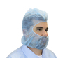 Seidman & Associates Large Blue Safety Zone® Polypropylene Disposable Hood