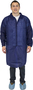 Seidman & Associates Large Blue Safety Zone® Polypropylene Disposable Lab Coat