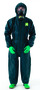 Ansell® Small Green Chemical Barrier Laminate Disposable Coveralls