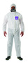 Ansell Medium White MICROCHEM® by AlphaTec® SMS Disposable Coveralls (Lead time for this product may be longer than normal.)