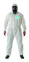 Ansell® Small White Microporous Laminate Disposable Coveralls