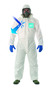Ansell® 5X White Microporous Laminate Disposable Coveralls