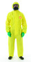 Ansell® 2X Yellow Chemical Barrier Laminate Disposable Coveralls