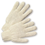 PIP® White Large Cotton And Polyester General Purpose Gloves With Knit Wrist