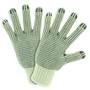 PIP® Natural Large Cotton And Polyester General Purpose Gloves With Knit Wrist