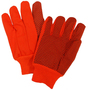 PIP® Orange Large Cotton And Polyester General Purpose Gloves With Knit Wrist