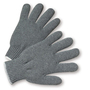 PIP® Gray Large Cotton And Polyester General Purpose Gloves With Knit Wrist