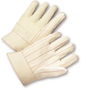 West Chester Natural Large Cotton And Polyester General Purpose Gloves With Band Top Cuff