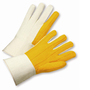PIP® Hi-Viz Green Large Cotton And Polyester General Purpose Gloves With Knit Wrist