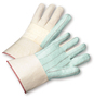 West Chester Natural/Yellow Large Cotton And Polyester General Purpose Gloves With Gauntlet Cuff