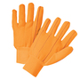 PIP® Hi-Viz Orange Large Cotton And Polyester General Purpose Gloves With Knit Wrist