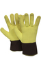 National Safety Apparel ® One Size Fits Most Yellow 22 Ounce DUPONT™ KEVLAR® Terry Heat Resistant Gloves With Duck Cuff, Wool Lining And Wing Thumb