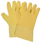 National Safety Apparel ® One Size Fits Most Yellow 22 Ounce DUPONT™ KEVLAR® Terry Heat Resistant Gloves With Twill Cuff, Wool Lining