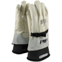 PIP® Size 10 Natural Cowhide Class 1 - 2 Linesmens Gloves