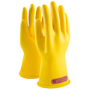 Protective Industrial Products Size 10 Yellow Rubber Class 0 Linesmens Gloves