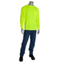 PIP® X-Large Hi-Vis Orange And Hi-Vis Yellow Long Sleeve Shirt