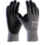 Protective Industrial Products Medium MaxiFlex® Ultimate™ AD-APT® Nitrile Palm And Fingertip Coated Work Gloves With Nylon/Lycra® Liner And Knit Wrist